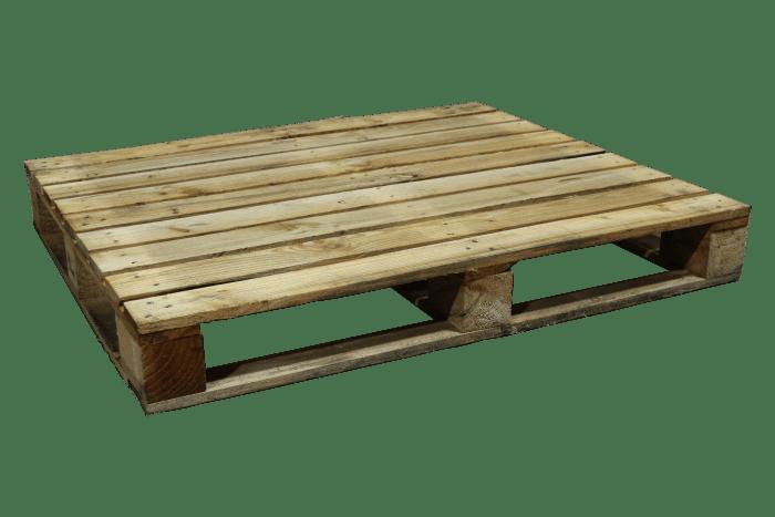 Blokpallet | 100 x 120 cm - zwaar blok omloop | PalletDiscounter