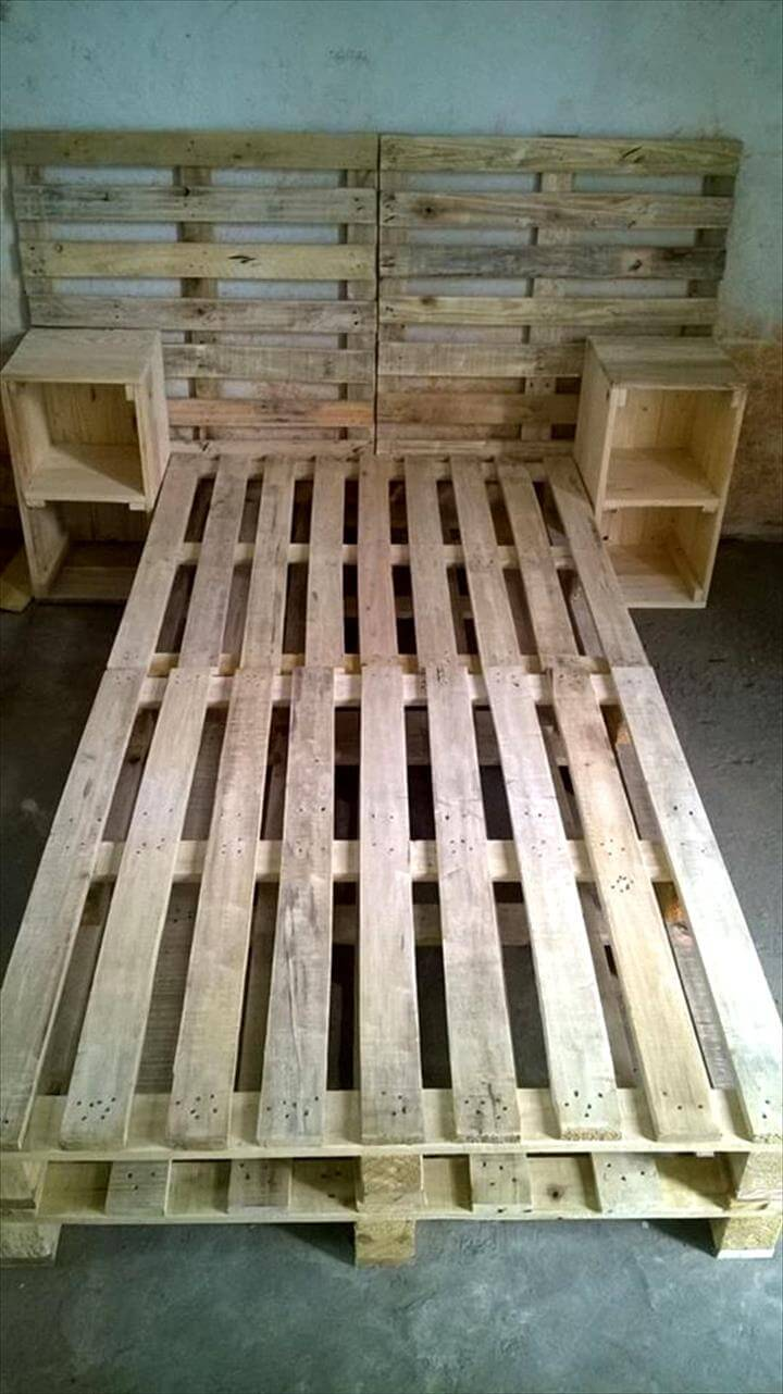 30+ Easy Pallet Ideas for the Home | Pallet Furniture DIY on Pallet Bedroom  id=94388
