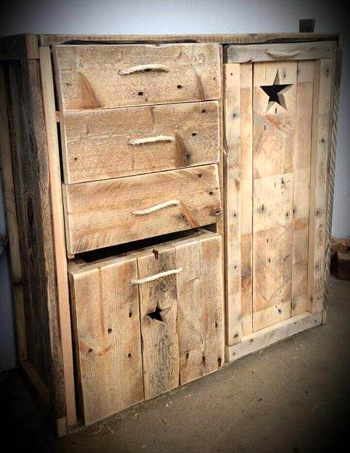 30+ Easy Pallet Ideas for the Home | Pallet Furniture DIY on Bedroom Pallet Ideas  id=28020