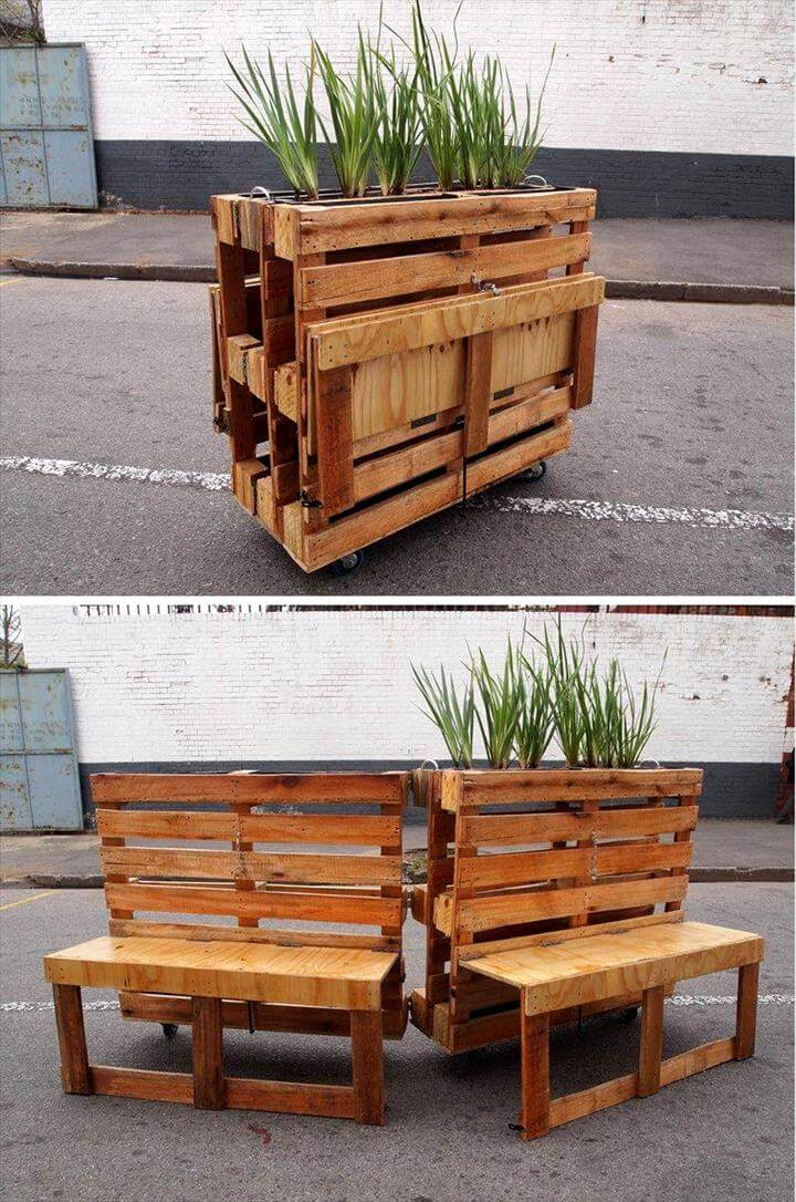 30+ Easy Pallet Ideas for the Home | Pallet Furniture DIY ... on Pallet Design  id=19368