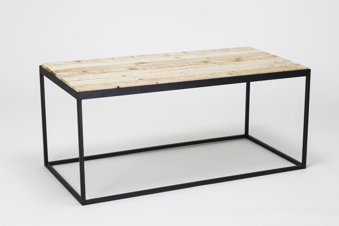 diy pallet steel coffee table pallet