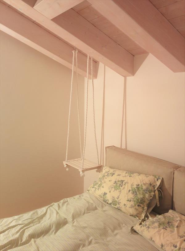 Pallet Hanging Bedside Table Pallet Furniture Plans