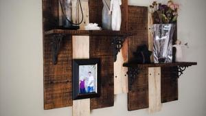 DIY Upcycled Pallet Shelf Idea Pallet Furniture Plans