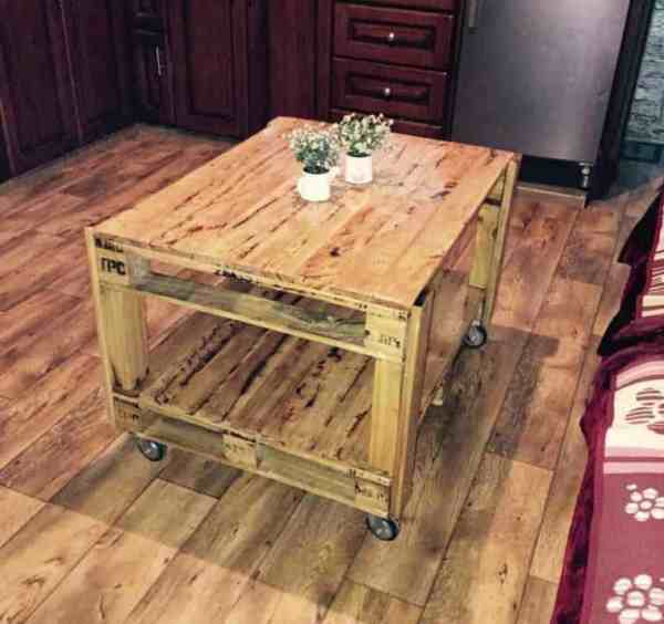 Tall Coffee Table Pallets Diy
