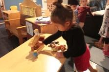 Nativity assembly in the preschool