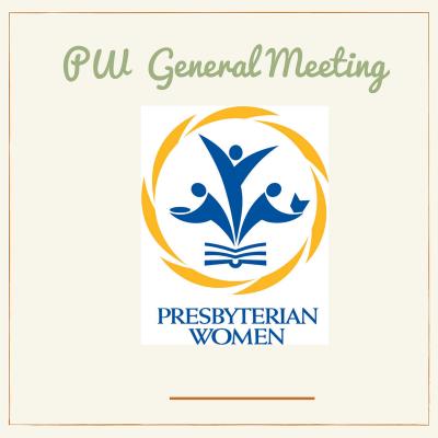 PW, Presbyterian Women