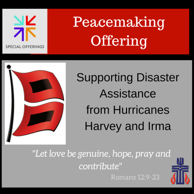 Special Offering, Hurricane, PDA, PCUSA