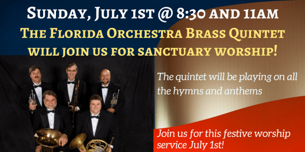 Brass Quintet 2018 July