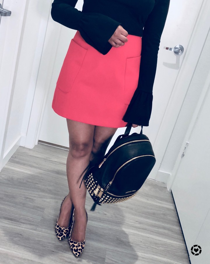 Instagram Bell Sleeves and Skirt