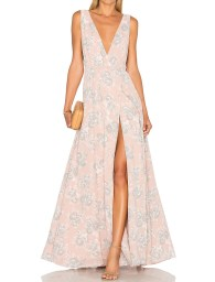 Lovers + Friends x REVOLVE Leah Gown in Blush