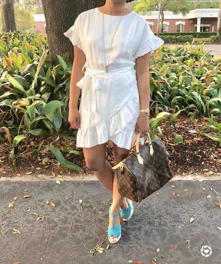Instagram Forever21 Wrap Dress