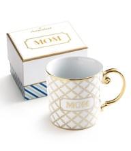 'Mom' Porcelain Coffee Mug