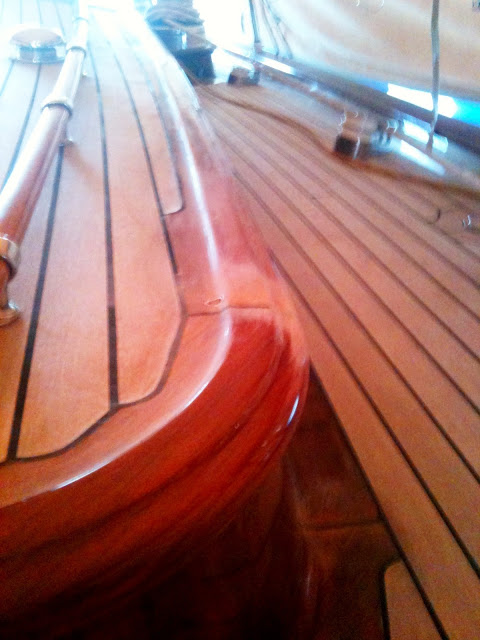 Barnis en nuestro barco