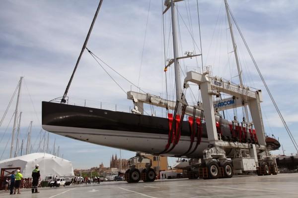 Aglaia sailing yacht