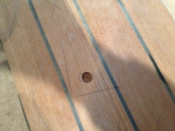 Orificio para untapin de 15mm