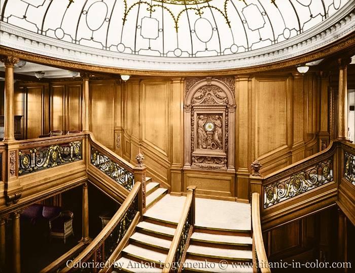 Titanic saloon