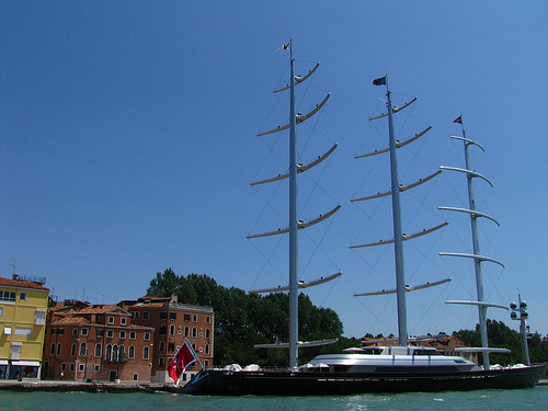 maltese falcon yacht photo