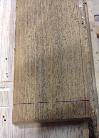 Marcado sobre la madera directamente