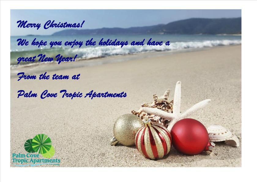 Christmas Wishes 2015 Palm Cove Tropic Apartments