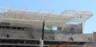 Allianz Parque: obras adiantadas.