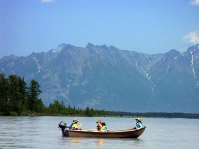 Floating the Knik River
