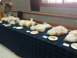 A few bread choices