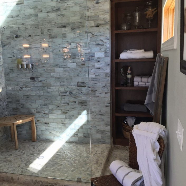 PDD design home stone shower