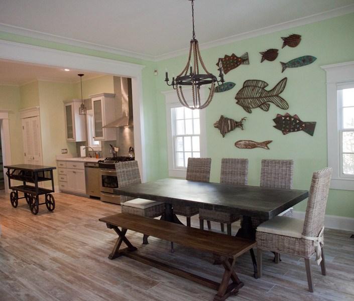 Nautical dining room design