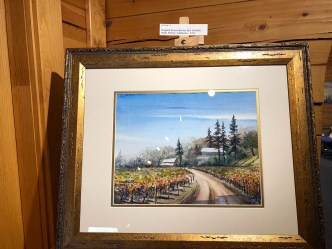 Ken Harris Artist of the Week Bogle Winery California