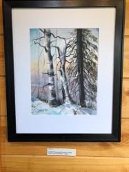 Ken Harris Artist of the Week Three Trees in January