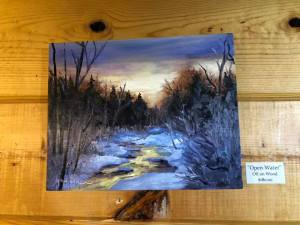 Maria McKiernan Artist of the Week at PMHA Open Water