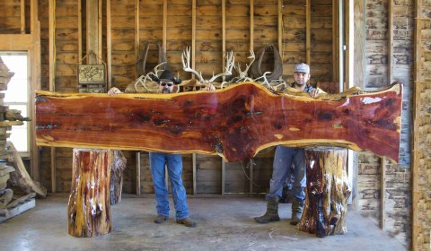 slab wood wood slab palmer rustic furniture handmade furniture custom furniture stigler oklahoma