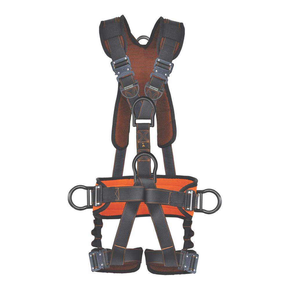 Harness 5pt Qcb Padded Back Amp Leg Back Side D Rings