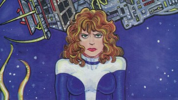 cover of the final issue of teri s. wood's wandering star