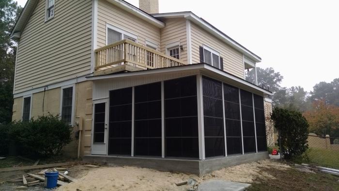 chapin sc sunroom screen porch deck