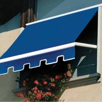 Add a colorful window awning to keep out sun and heat. Protect your floors, furniture and walls from fading sunrays and stop sun glare. Call Palmetto Outdoor Spaces for free quote.