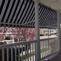 Block hot afternoon sun on your front porch with Aristocrat Awnings. Add style and comfort to your Greenville SC Home with one of our awnings installed by Palmetto Outdoor Spaces.