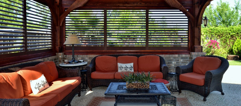 Outdoor Shutters For Porch Palmetto Outdoor Spaces