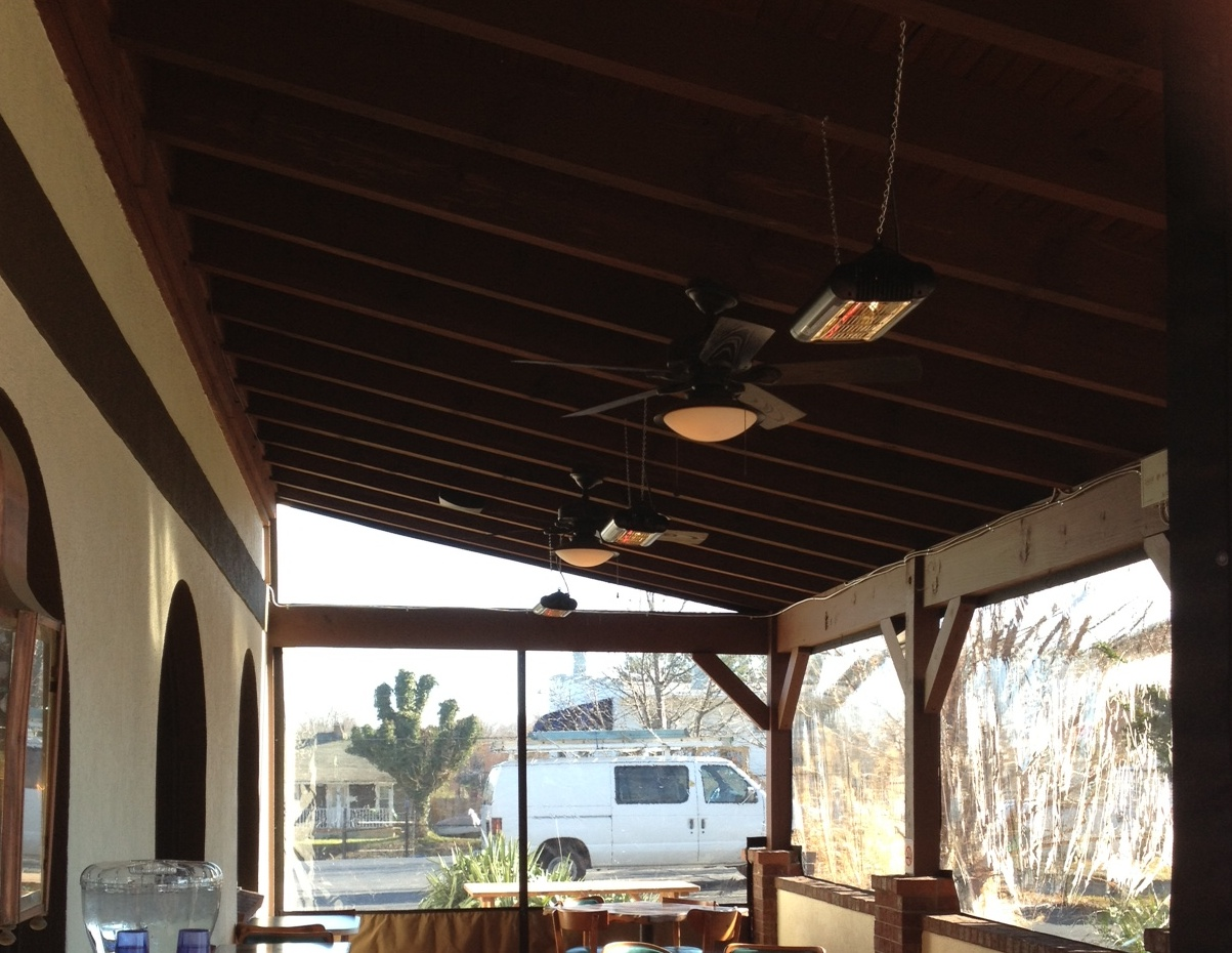 Our Snap In Clear Vinyl Curtains Are A Great Choice For Enclosing An  Outdoor Dining Space As Well. Add A Few Of Our Solaira Quartz Outdoor  Heaters To Warm ...