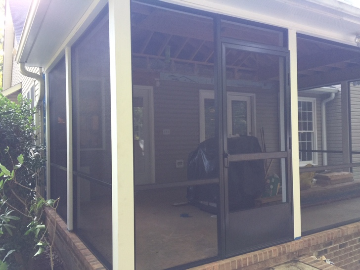 porch ohio porches in built for addition columbus suncraft screened screen rooms custom
