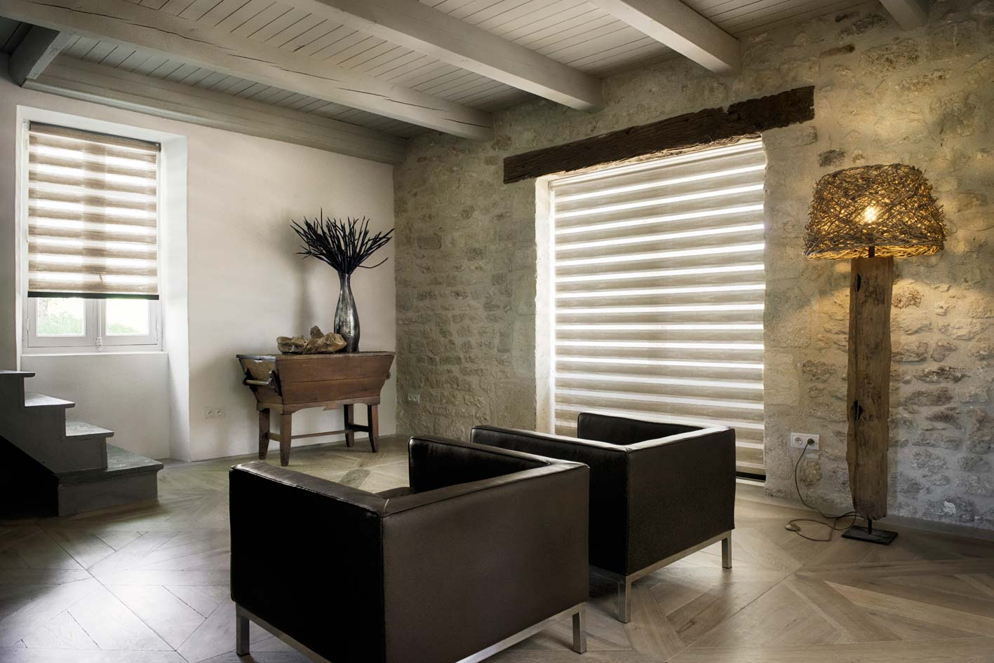 Crown Amp Coulisse Shades Palmetto Outdoor Spaces Llc