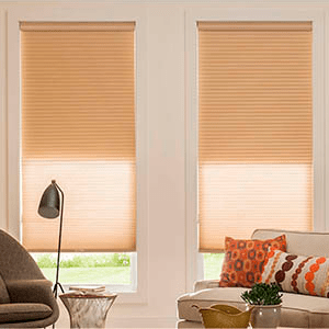 Tandem transforms a light-filtering shade into a blackout or a blackout into a screen. The roller back liner provides flexible light management.