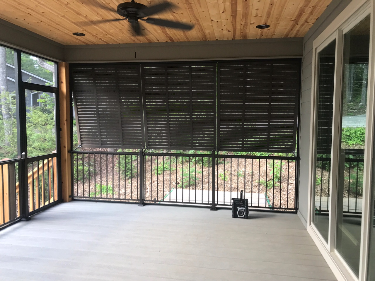 Privacy Bahama Shutters And Fortress Handrails Palmetto