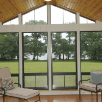 Eze Breeze Bronze Vinyl Windows