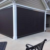95 Block Solar Mesh Motorized Retractable Universal Screens Charlotte NC