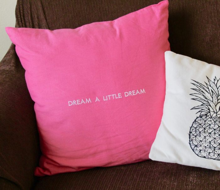 Kate Spade Words of Wisdom Idiom Pillow