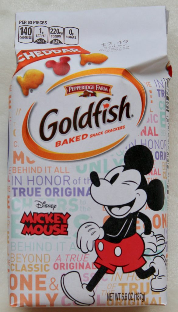 Mickey Mouse Goldfish
