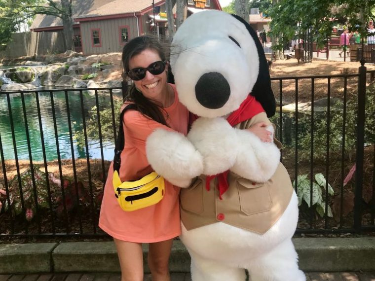 Snoopy at Carowinds
