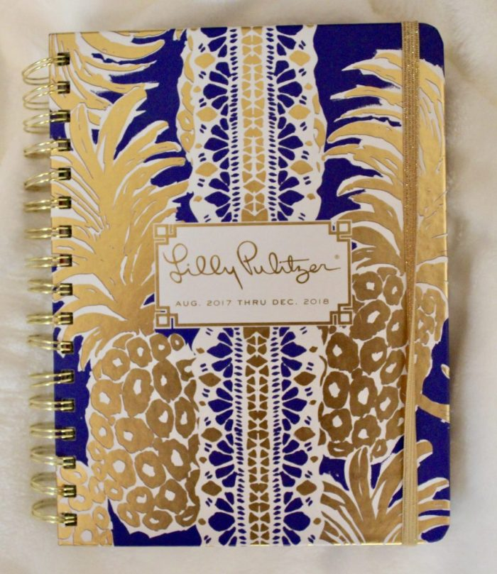 Lilly Pulitzer Pineapple Agenda
