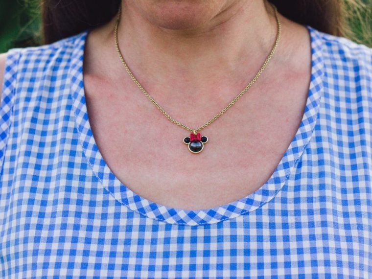 Kate Spade Minnie Mouse Pendant